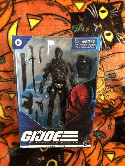 GI Joe Snake Eyes 02 Classified Series 6 Inch Action Figure