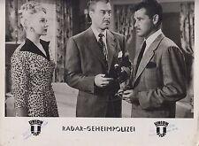 Radar-Geheimpolizei (Kinofoto '52) - John Howard / Adele Jergens