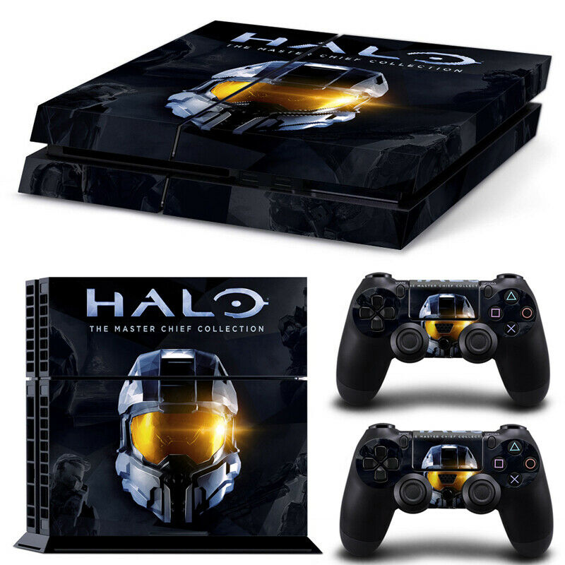 HALO Theme For PlayStation 4 Console PS4 Skin Vinyl Sticker (OFFERS WELCOME)