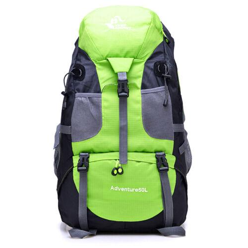 1PC Men Travel Backpack Military Outdoor Hiking Bag Climbing Rucksack 50L Nylon
