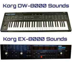 Most Sounds: Korg DW-8000, EX-8000