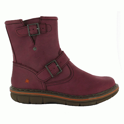 The Art Company 0430 Assen Boot Crazy Horse Rioja, leather boot with buckle