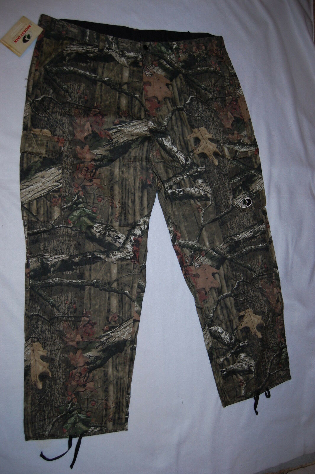 Mens  MOSSY OAK PURSUITS HUNTING PANTS Green Camouflage 2XL 44-46  amazing colorways