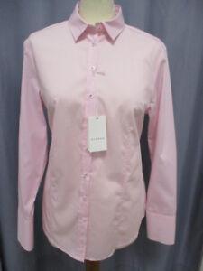 Eterna-6151-51-D624-Modern-Classic-Bluse-Langarm-Rose-Weiss-filigran-gestreift