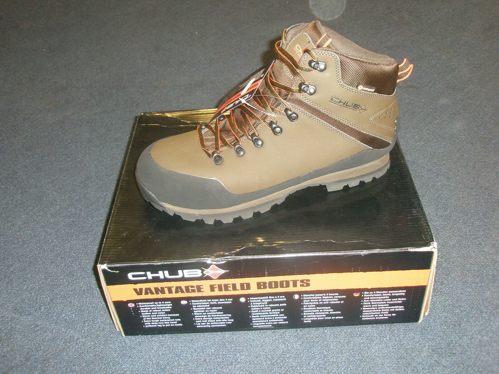 Chub Chub Chub Vantage Waterproof Field Stiefel ALL SIZES Fishing 5af35e