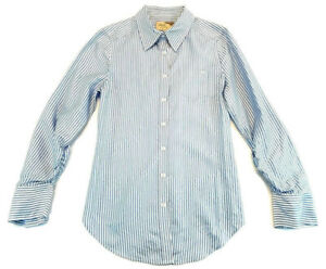 Elizabeth-and-James-Button-Up-Cohen-Back-Button-Detail-Shirt-Size-Small-Womens