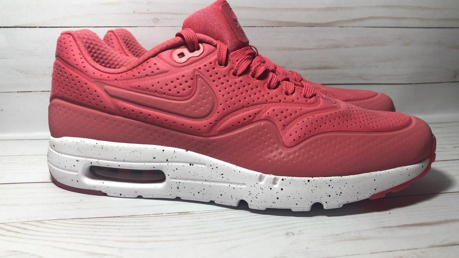 NIKE Air Max 1 One One One ultra moire Neu Gr:44 flyknit 90 95 97 705297-611 terra ROT 0dfb67