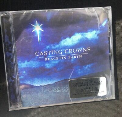Casting Crowns - Peace on Earth New CD Sony Superstar | eBay