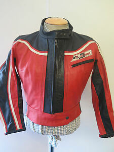 Image Is Loading Vintage Dainese Leather Jacket Cafe Racer Motorcycle Biker