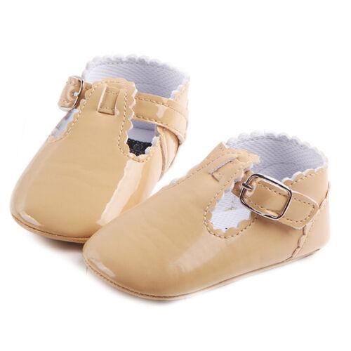 Baby Girl Newborn 0-18M Bling Crib Pram Shoes SPANISH Mary Jane First Walkers TP