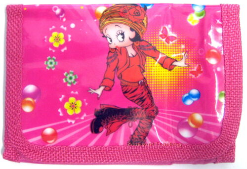 new Betty Boops girls kids children cartoon Wallet coin Purse tri-fold