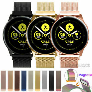 Details about For Samsung Galaxy Watch Active Strap Magnetic Milanese Wristwatch Band Bracelet