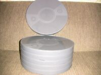 Six- 1600ft 16mm Plastic Cans - Archival