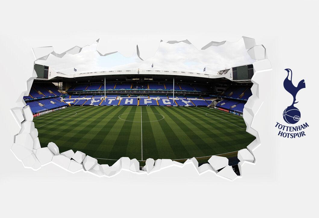Tottenham Hotspur Football Club Officiel Stade Smash Wall Sticker murale Spurs murale Sticker 4edc66