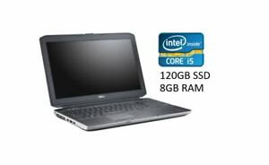 DELL Latitude E5530 Notebook Intel i5 3340 120GB SSD 8GB RAM Win10 Pro 15,6 Zoll