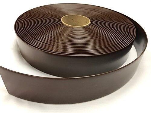 "2/""x100/' Ft Vinyl Patio Lawn Furniture Repair Strap Strapping Dark Brown"