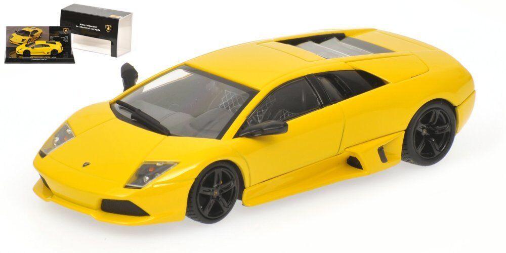 Lamborghini Murcielago LP640 2006 2006 2006 Yellow 1 43 Model 436103920 MINICHAMPS 327473