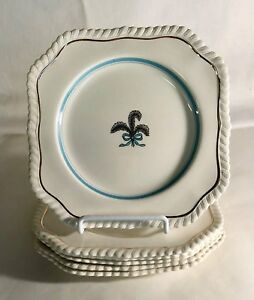 6-Johnson-Brothers-Prince-Of-Wales-5-7-8-034-Square-Salad-Plates
