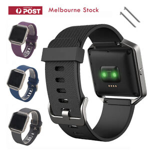 Fitbit Blaze Band Replacement Silicone Bands Strap Bracelet Wristband Sport MEL