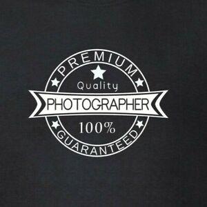 Photographer-Premium-Quality-100-Guaranteed-T-Shirt-Photography-Camera-Top