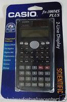 Casio Fx-300ms Plus 2-line Display Scientific Calculator Math, Biology, Etc.
