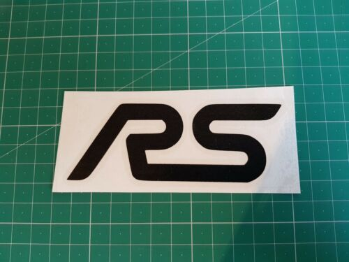 petrol head decal,novelty,racing,tuning ford fiesta focus rs vinyl sticker