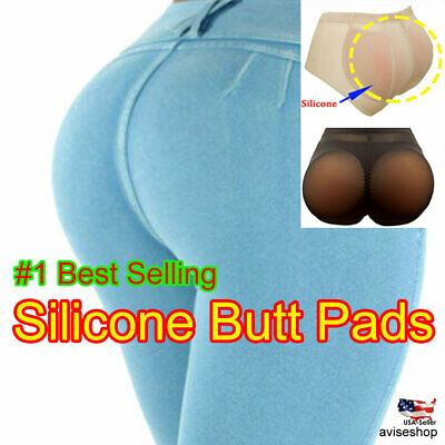 Brief Silicone Pads Butt Enhancer Shaper Panties Buttock Tummy Control 7010 S-5X
