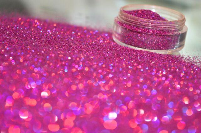 Bizzy Nails Cosmetic Grade Glitter Nail Art Purple Sparkle Acrylic