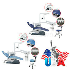Dental Chair Unit Pu Leather Computer Controlled Dc Motor Stool
