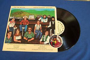 For-The-Record-Austin-Country-1973-1978-Americana-LP-Maverick-Piranha-Records