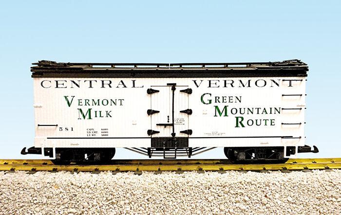 prima i clienti USA i treni treni treni G Scale R16018A-D Vermont Milk CHOICE   nuovo RELEASE  moda classica