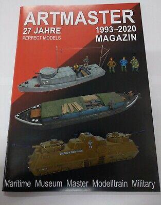 Artmaster 27 Jahre Katalog Magazin 1993-2020 63 Seiten
