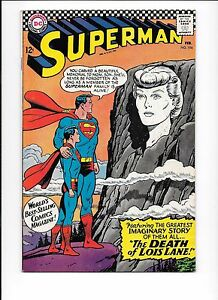 Superman-194-February-1967-The-Death-Of-Lois-Lane