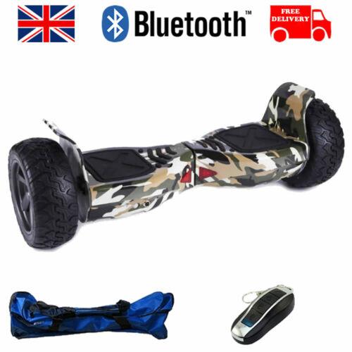 """Officiel Hip Hop 8.5/"""" Bluetooth Tout terrain Hummer swegway Balance Board"""