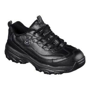 Skechers-Women-039-s-Work-D-039-Lites-Slip-Resistant-Marbleton-Sneaker