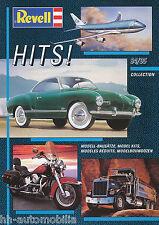 Katalog Revell Hits 1994 1995 brochure model cars ships planes Broschüre Katalog