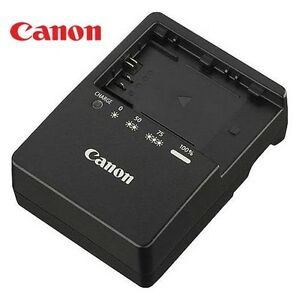 New Genuine Canon LC-E6 LP-E6 Battery Charger EOS 5D Mark II III 6D 60D 7D  70D | eBay