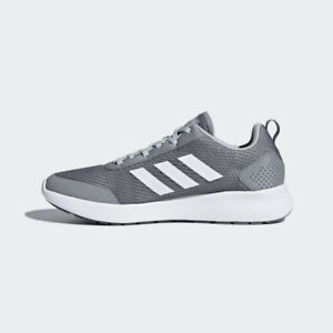 afc3203f07 Adidas Men s CF ELEMENT RACE RUNNING Training shoe Gray  White All ...