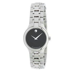 Movado 0606368 Women's Museum Black Quartz Watch