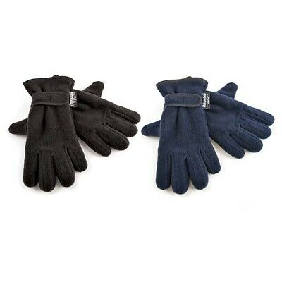 Kids Gloves Thinsulate Polar Fleece Glove With PVC Grip Boys Girls Winter
