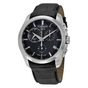 Tissot-T-Trend-Couturier-Chronograph-GMT-Men-039-s-Watch-T035-439-16-051-00