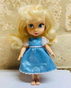 Disney-Store-Animator-039-s-Collection-princess-cinderella-Mini-Doll-5-034