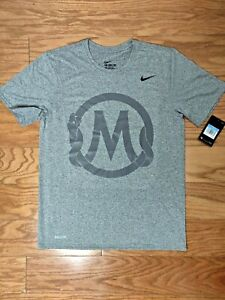 Mamba-Sports-Academy-Nike-Dri-Fit-Grey-Shirt-Sz-Men-039-s-M-NWT-Kobe-Bryant-GiGi