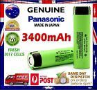 Panasonic NCR 18650 B 3400mAh Flat Top Lithium Li-Ion Rechargeable Battery