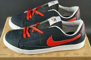Men-039-s-2012-Nike-Blazer-Mid-Prm-Scarpe-Da-Ginnastica-in-Pelle-Scamosciata-Misura-UK-10-EU-45-OG