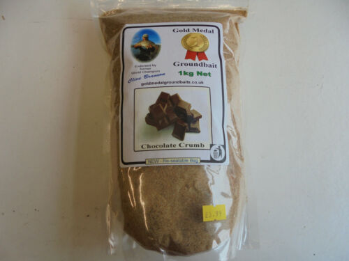 1kg. chocolate crumb clive branson gold medal ground bait