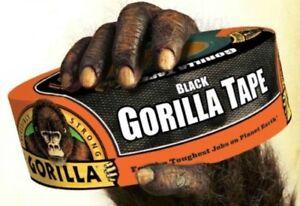 Black Gorilla Duct Tape Roll Tough Wide Waterproof