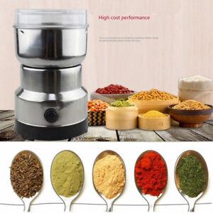 Electric-Spice-Coffee-Nut-Seed-Herb-Grinder-Crusher-Mill-Blender-Steel-110V-USA