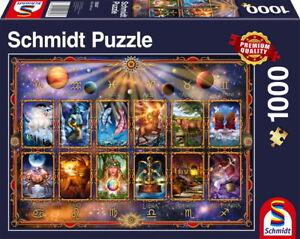 1000-Teile-Schmidt-Spiele-Puzzle-Sternzeichen-58347