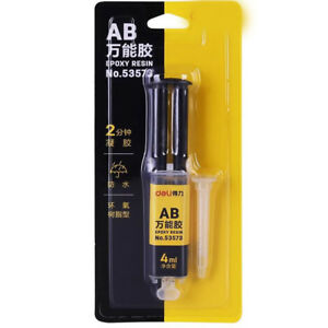 Waterproof Super AB Liquid Glue Strong for Plastic Glass Rubber